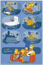 Симпсоны (The Simpsons) Постер