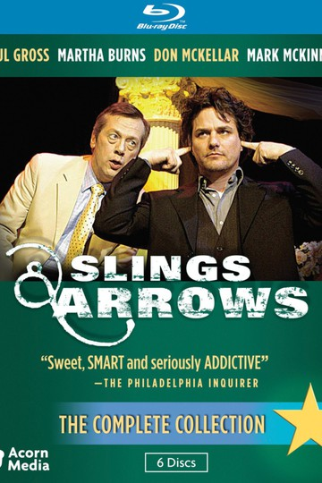 Пращи и стрелы / Slings and Arrows (сериал)