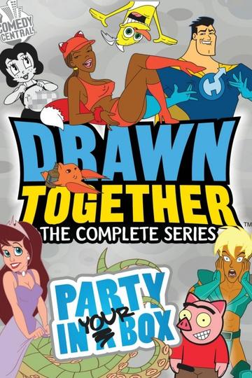 Сумасшедшие за стеклом / Drawn Together (сериал)