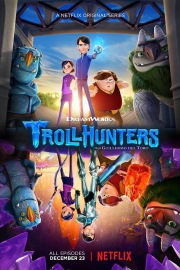 Охотники на троллей / Trollhunters (сериал)