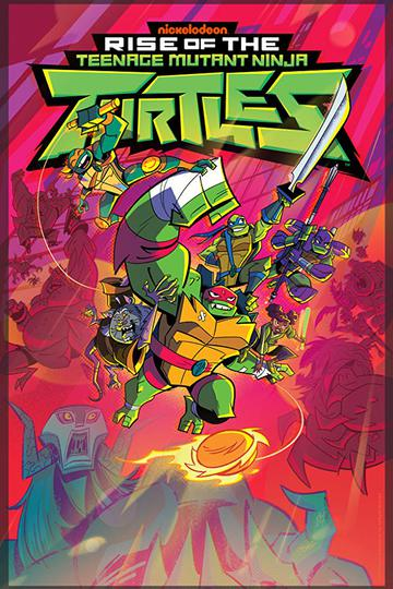 Эволюция Черепашек-ниндзя / Rise of the Teenage Mutant Ninja Turtles (сериал)