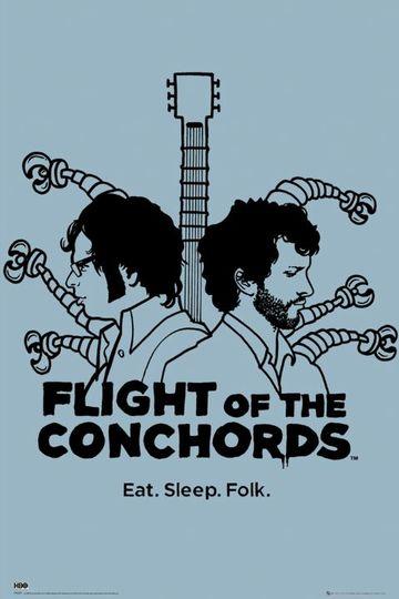 Летучие Конкорды / Flight of the Conchords (сериал)